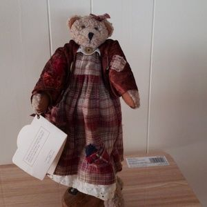 Teddy Tompkins collectible bear 1996